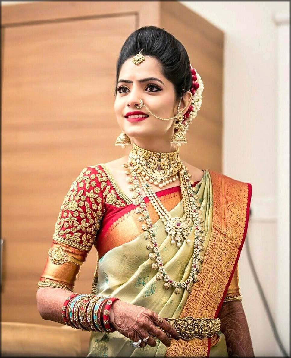 Stunning And Stylish Wedding Saree