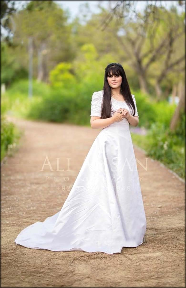Tail Gown Bridal Shower Dresses