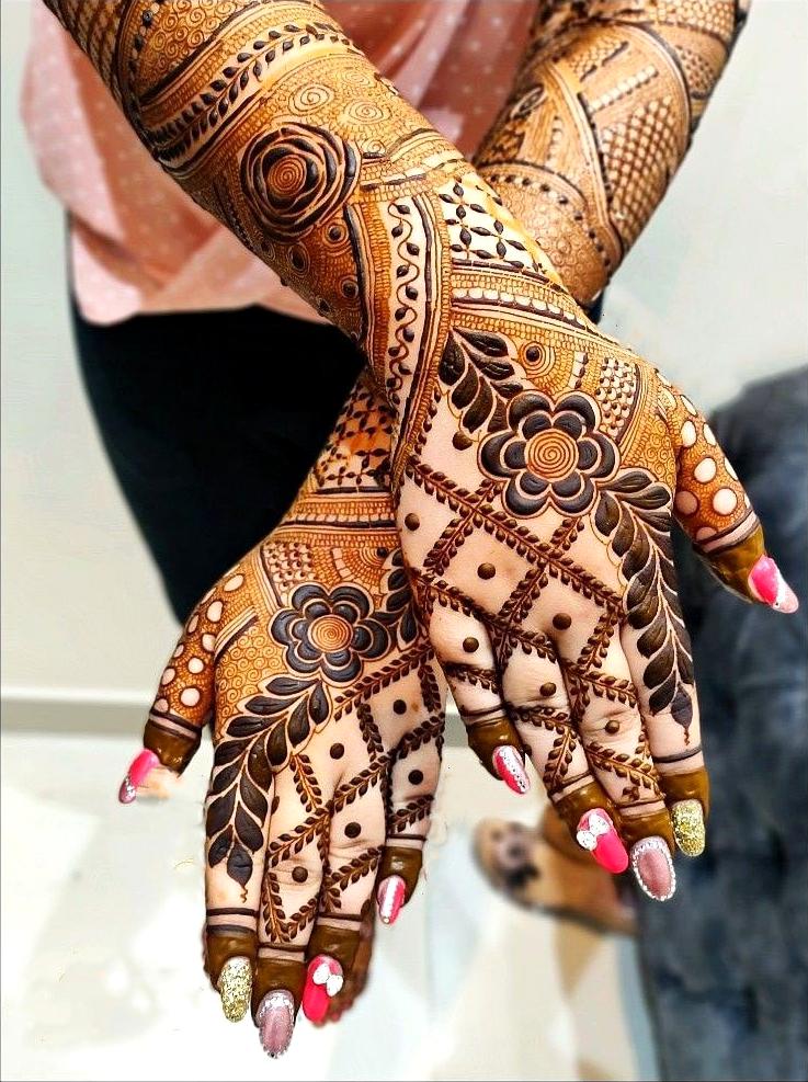 Turkish mehndi desings for hand