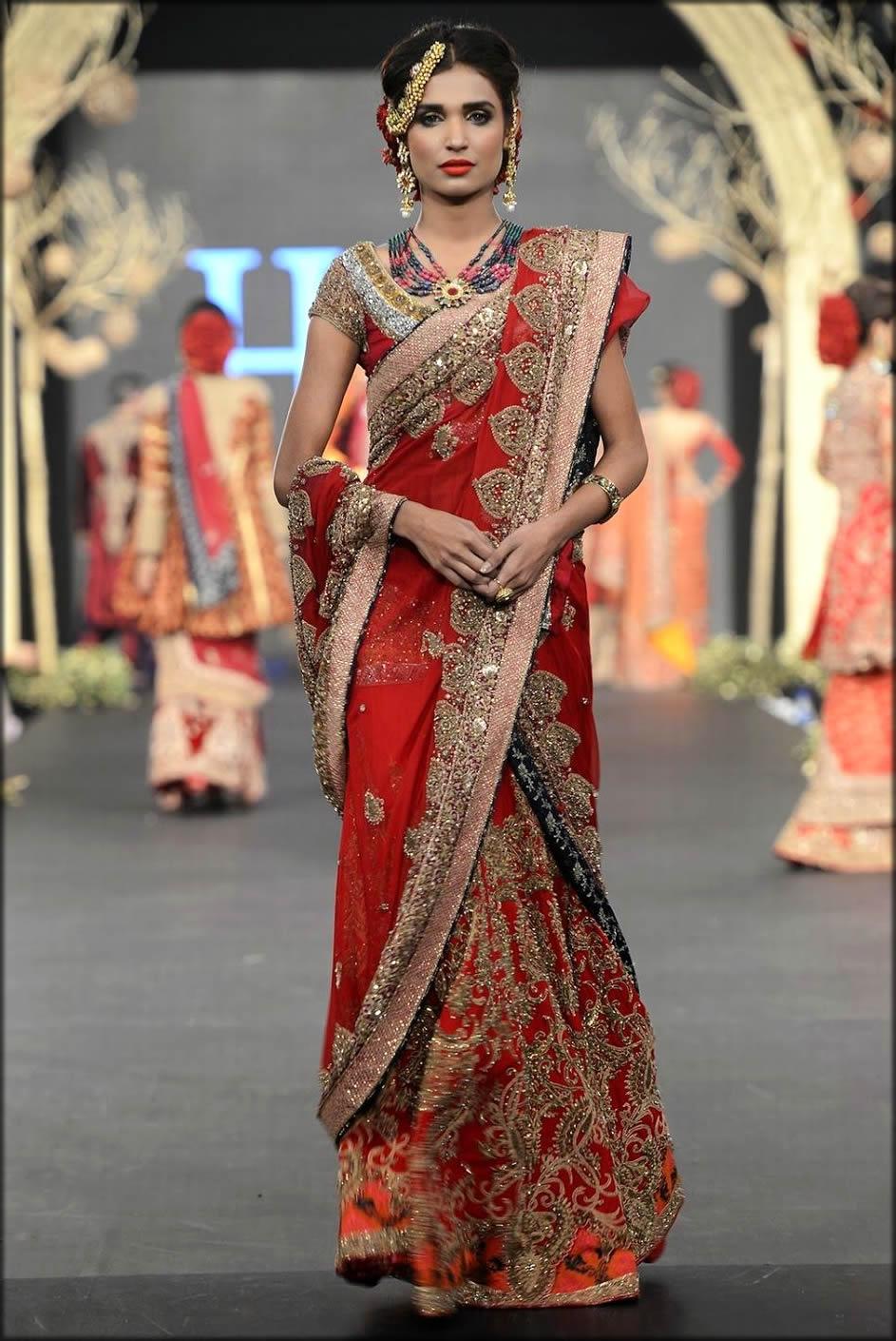 Wedding Wear Saree By HSY