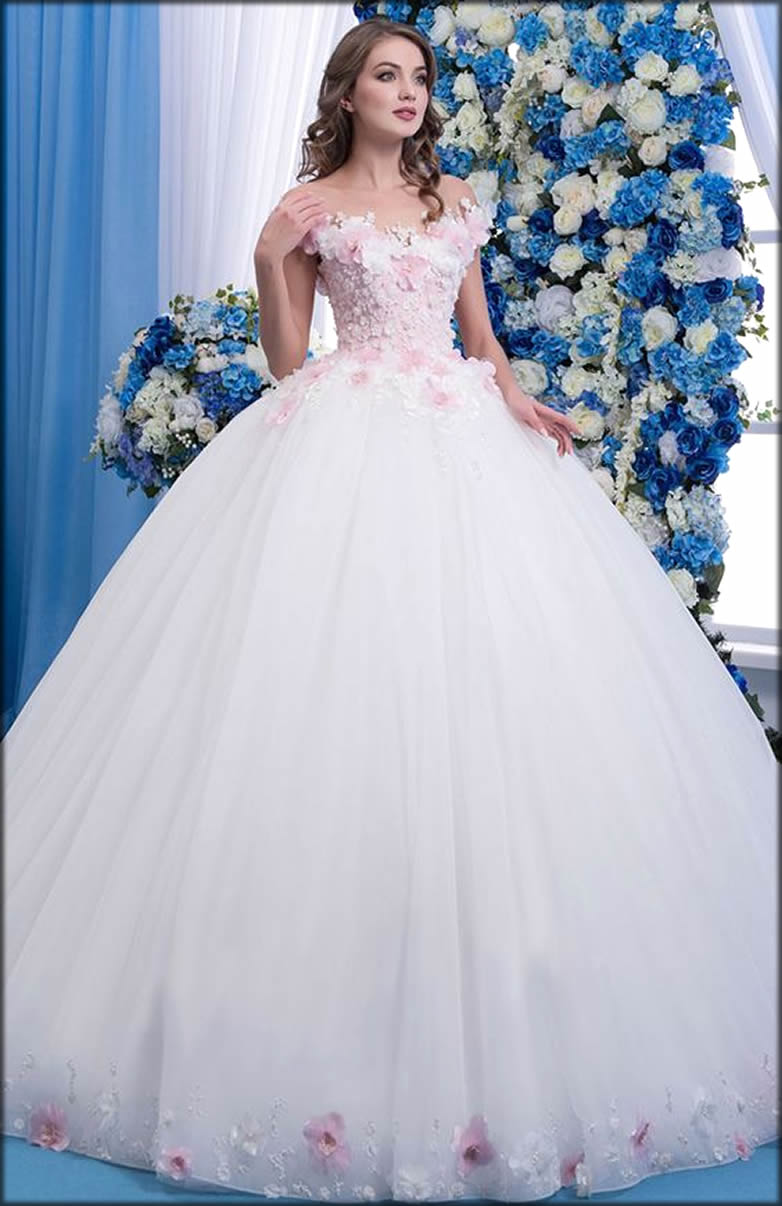 White Fairy Gown For Bride To Be