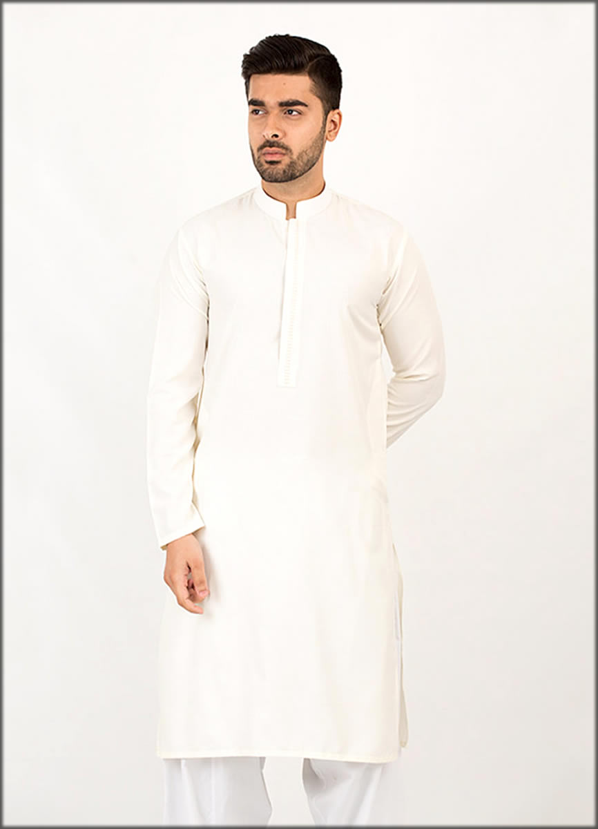 White kurta Collection For Men