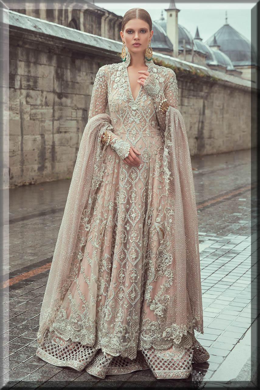 latest bridal walima dresses