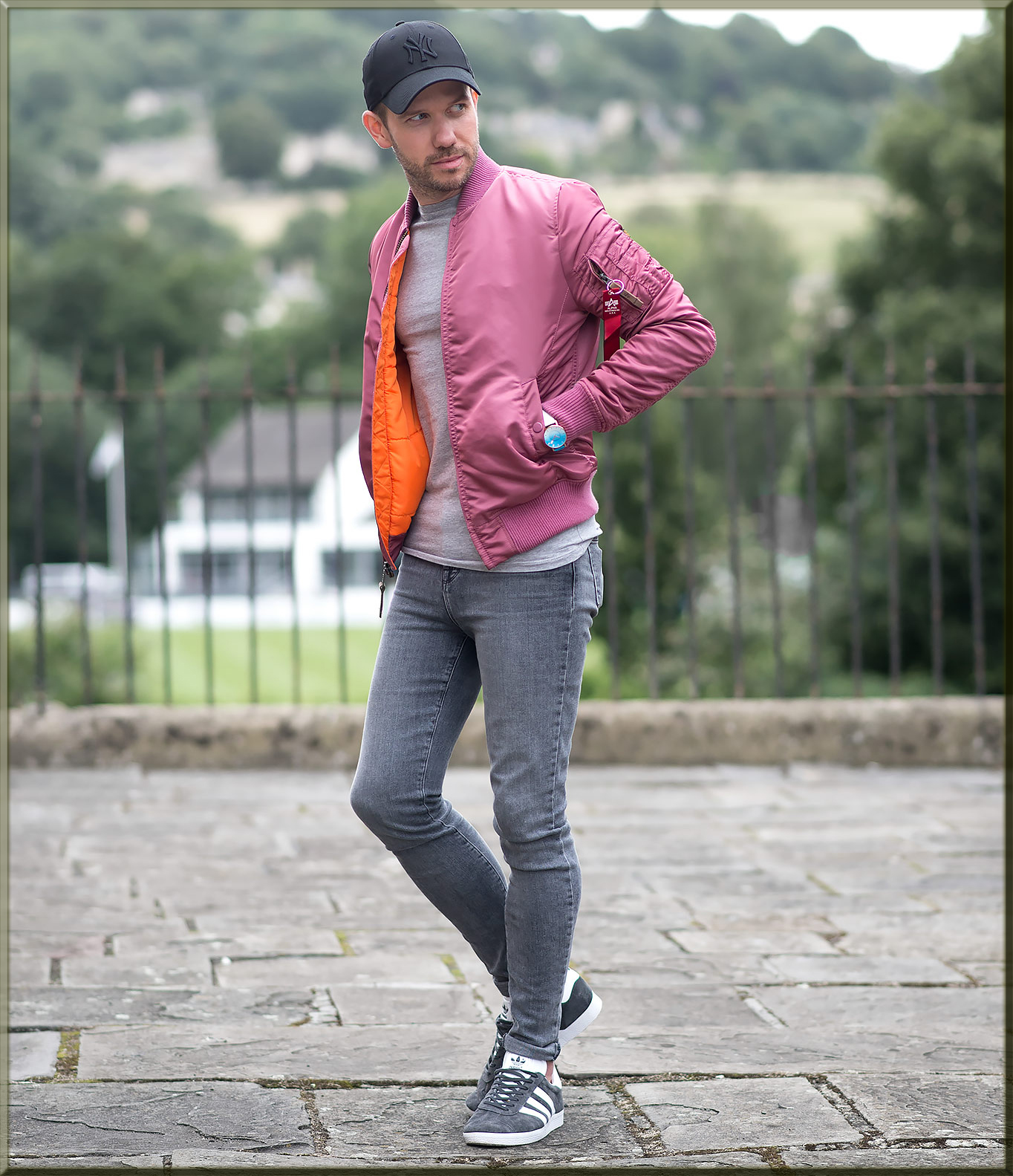 a touch of pink for mens