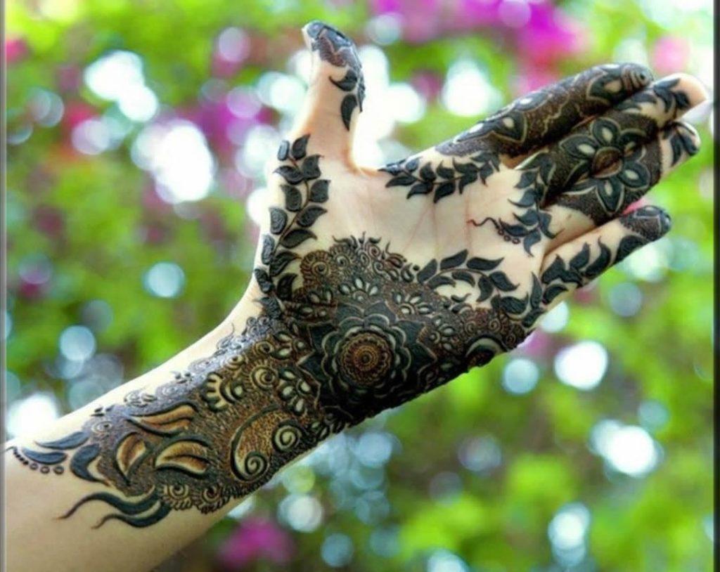 best arabic kashees mehndi designs