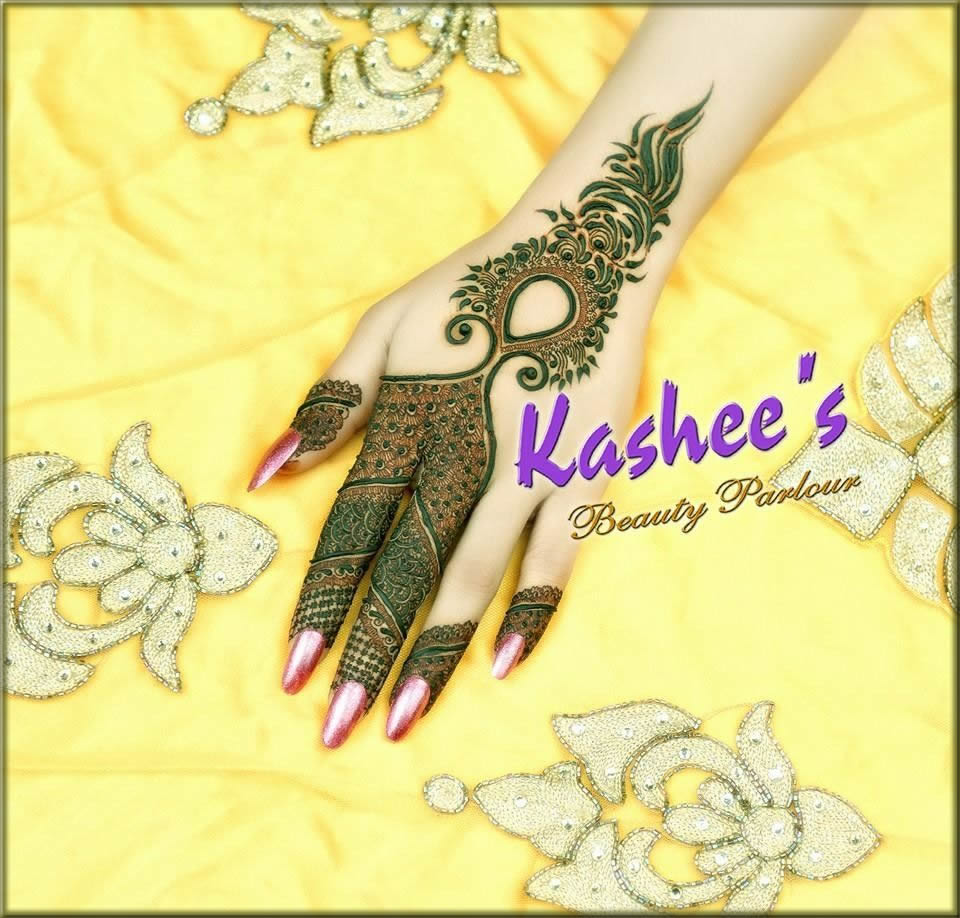 attractive kashees mehndi designs