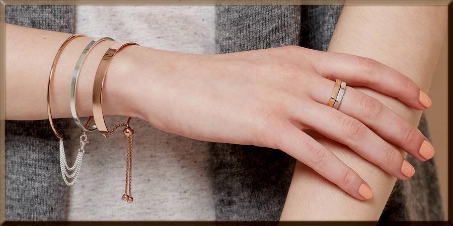 bar slider bracelet for girls