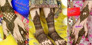 New Kashee's Mehndi Designs Signature Collection 2021