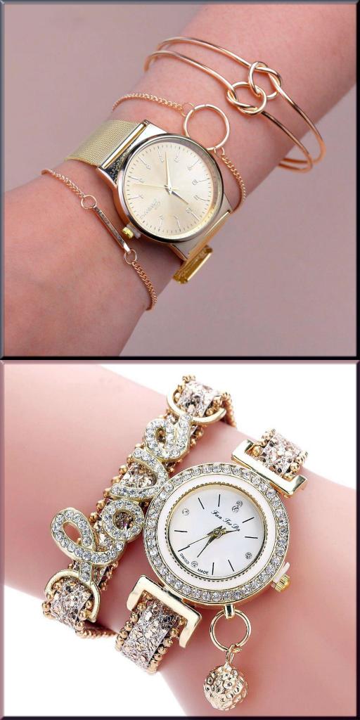 beautiful wrist watch bracelet for girls