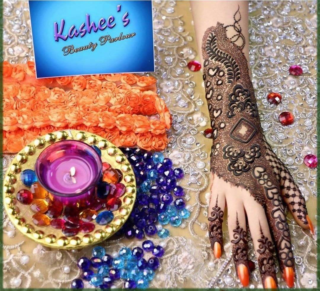 admirable kashees mehndi designs