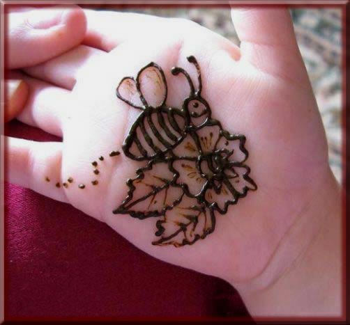 cutest mehndi designs for kids