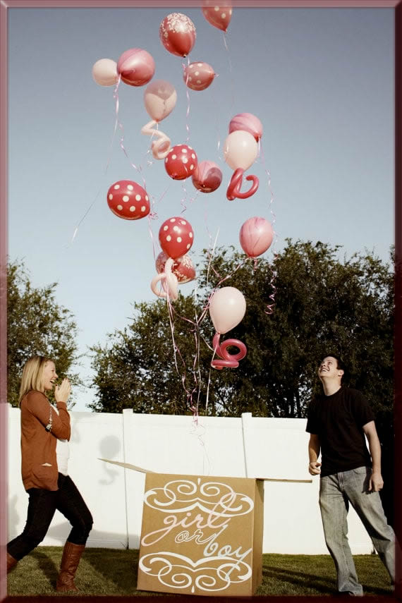 bubble Balloons box for your love