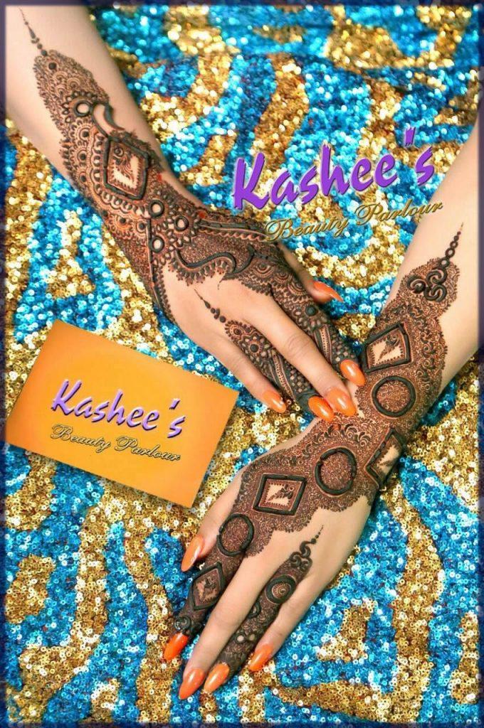 marvelous mehndi design for bride