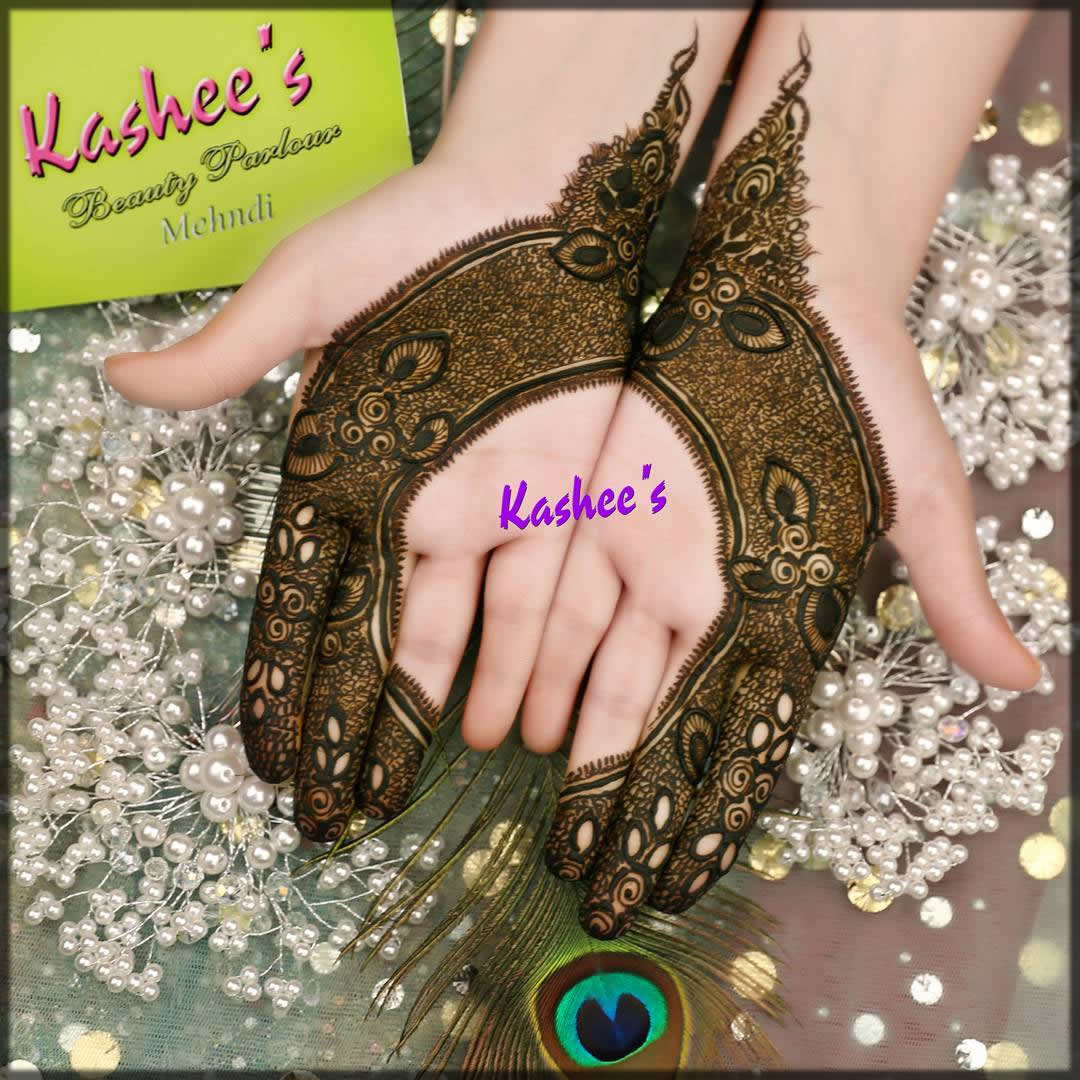 charming kashees mehndi designs for teenagers