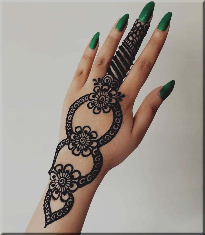 fab mehndi designs for beginner