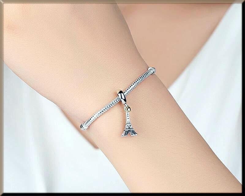 eiffel tower bracelet for girls