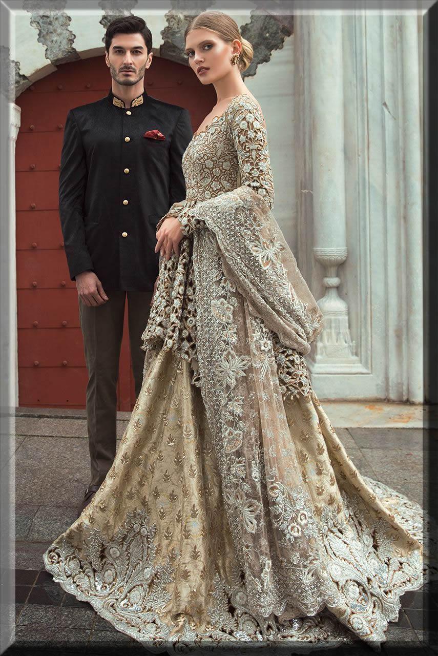 Sania Maskatiya bridal walima dresses