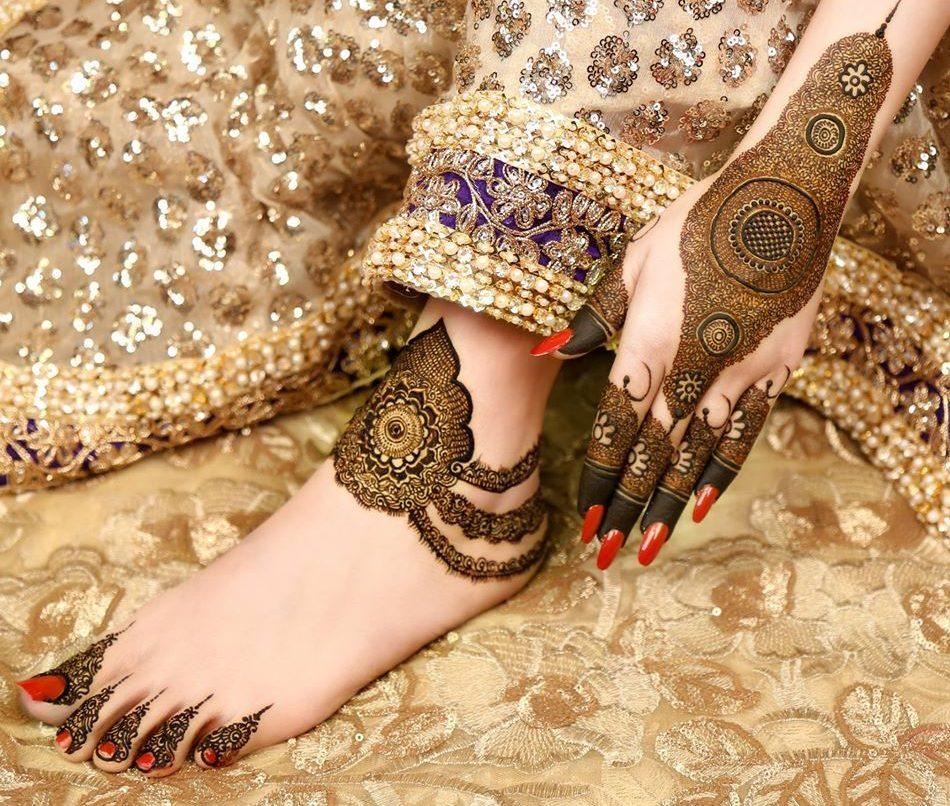 Arabic mehndi design by kashee's