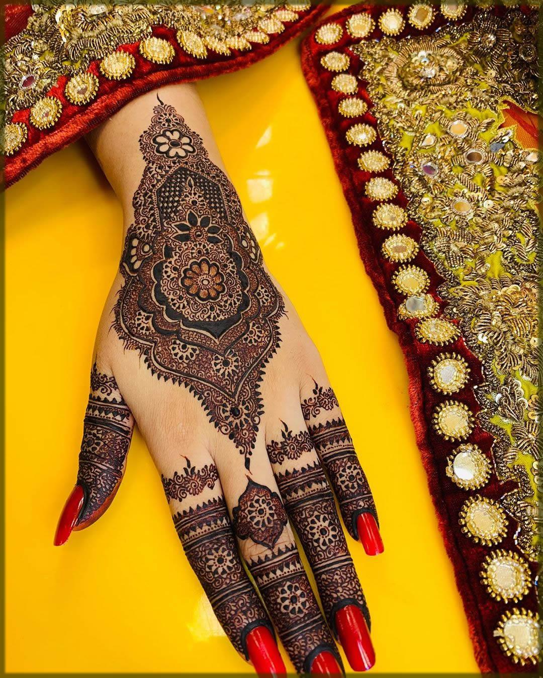 kashee's stylish eid mehndi designs