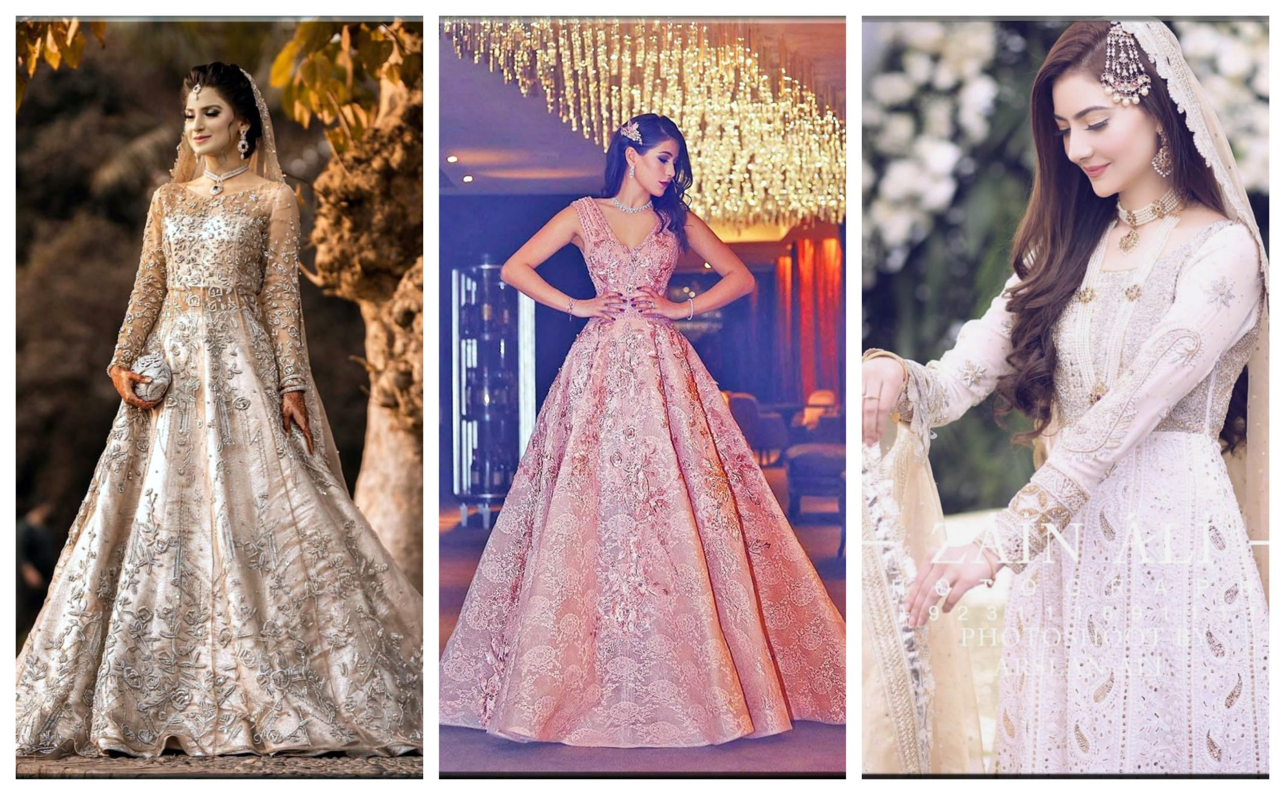 Latest and Fancy Engagement Dresses For Women 8