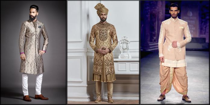feature image of men wedding sherwani