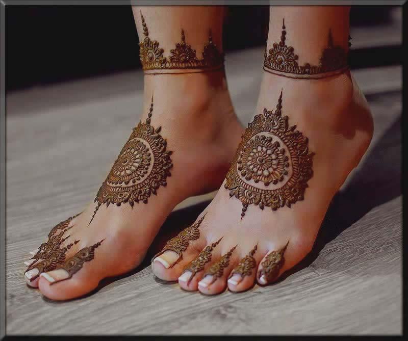 tikki mehndi designs for bride