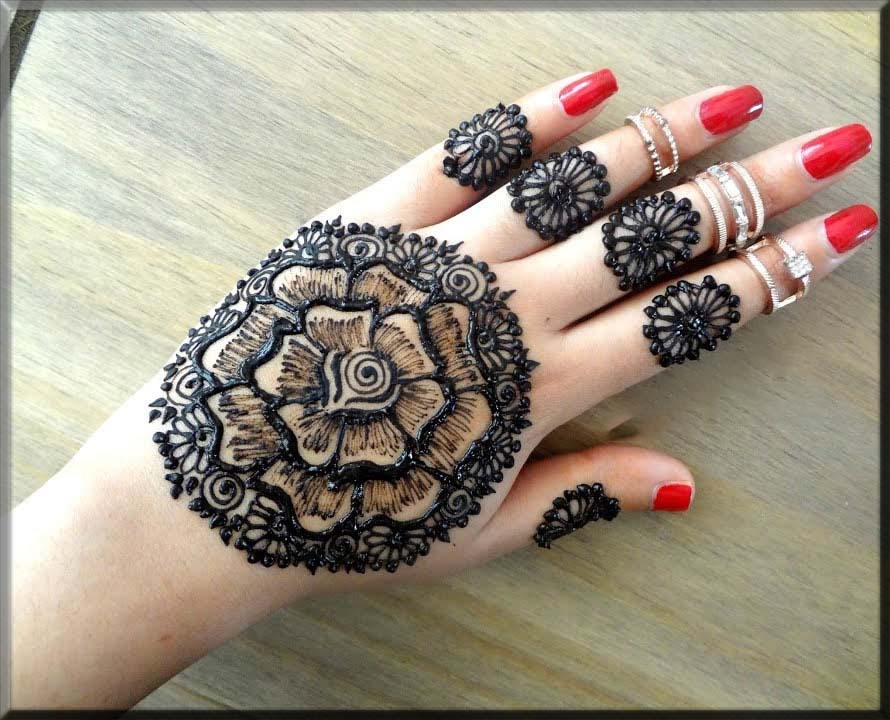 indian henna styles for teenagers