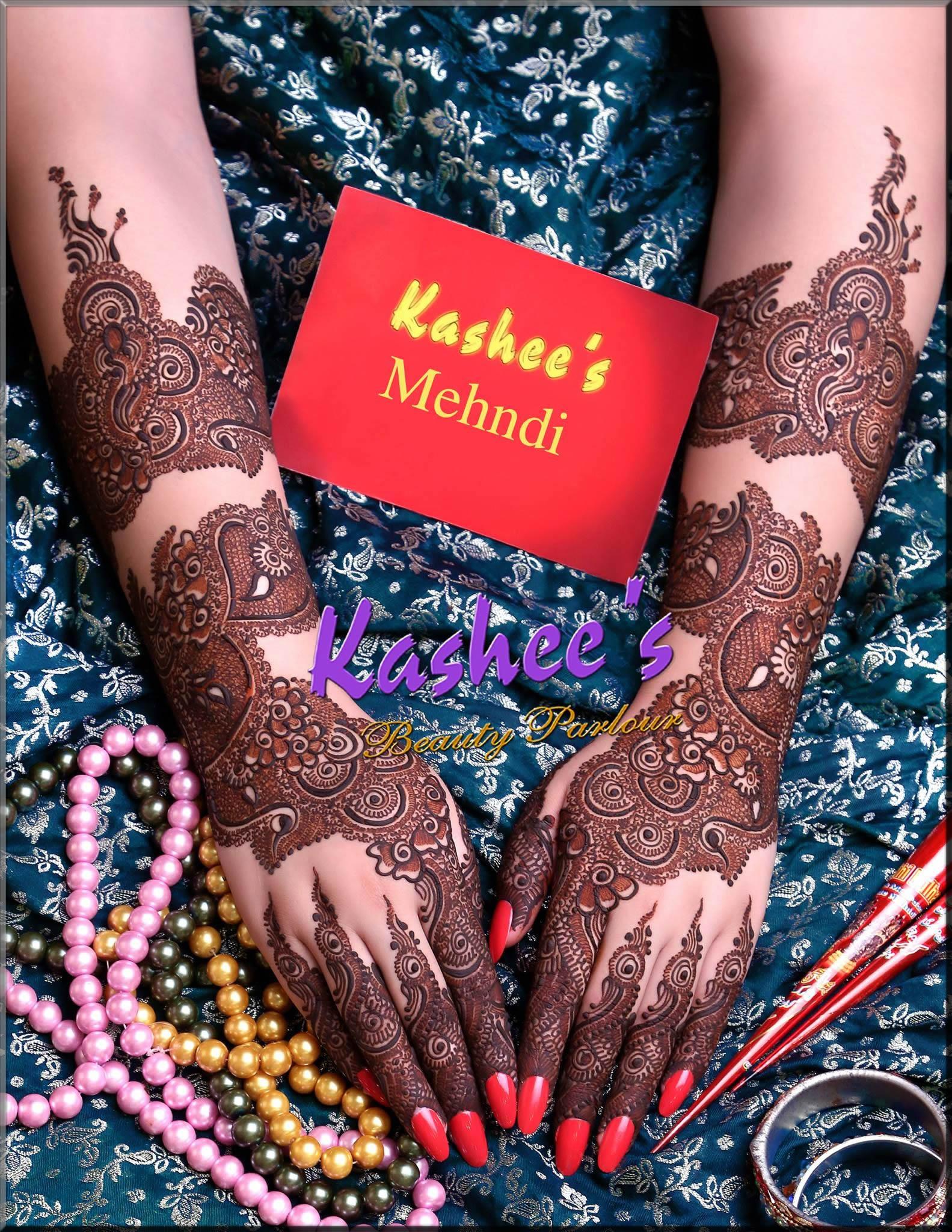fascinating kashee's mehndi designs