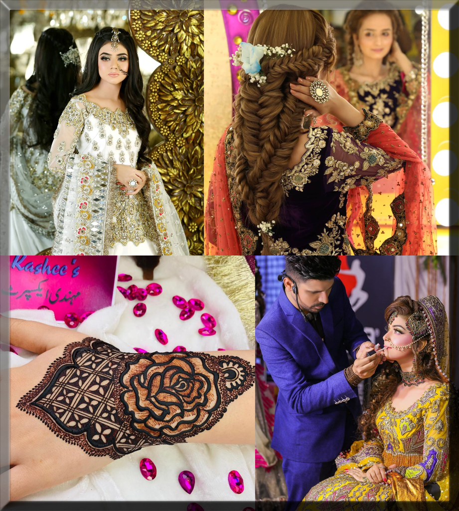 kashees mehdni and bridal makeover