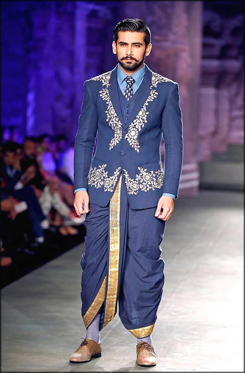 kerala Groom Engagement Dresses With Dhoti