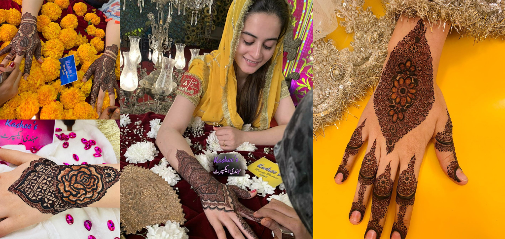 kashees mehndi designs collections