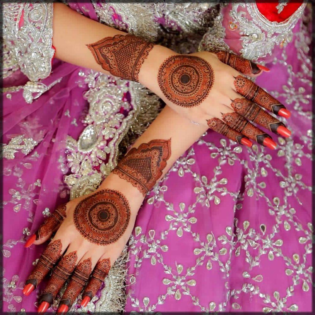 latest kashees mehndi designs
