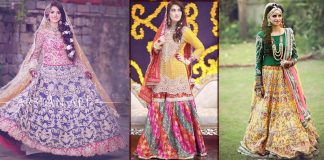 Bridal Mehndi Dresses 2021 Latest Trends In Pakistan