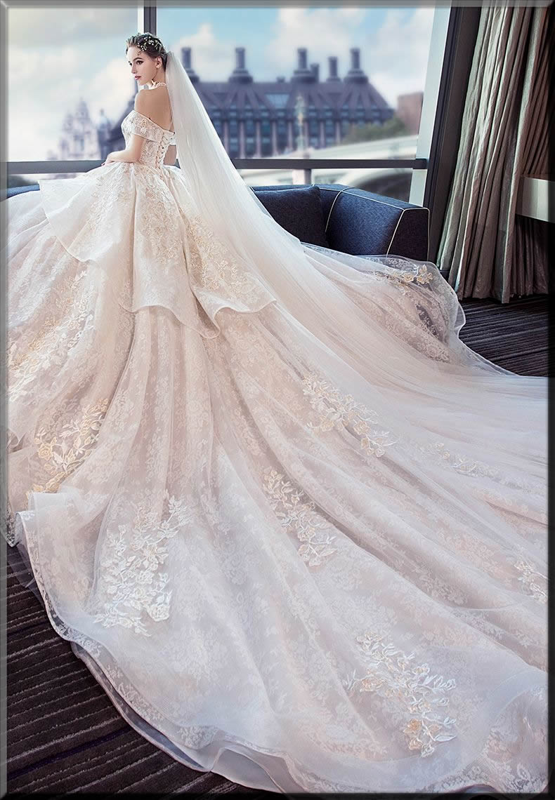 long tail white Valentine's Day ideas dress