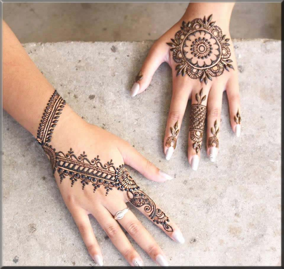 magnificant mehndi designs for beginners