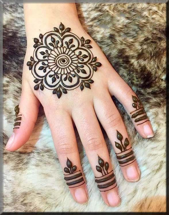 delightful mehndi designs for beginners