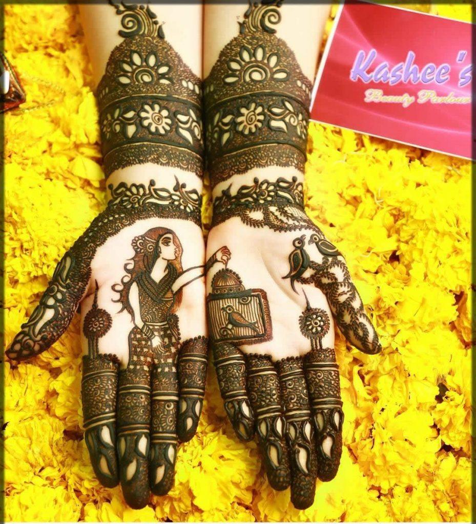 adorable kashees mehndi designs