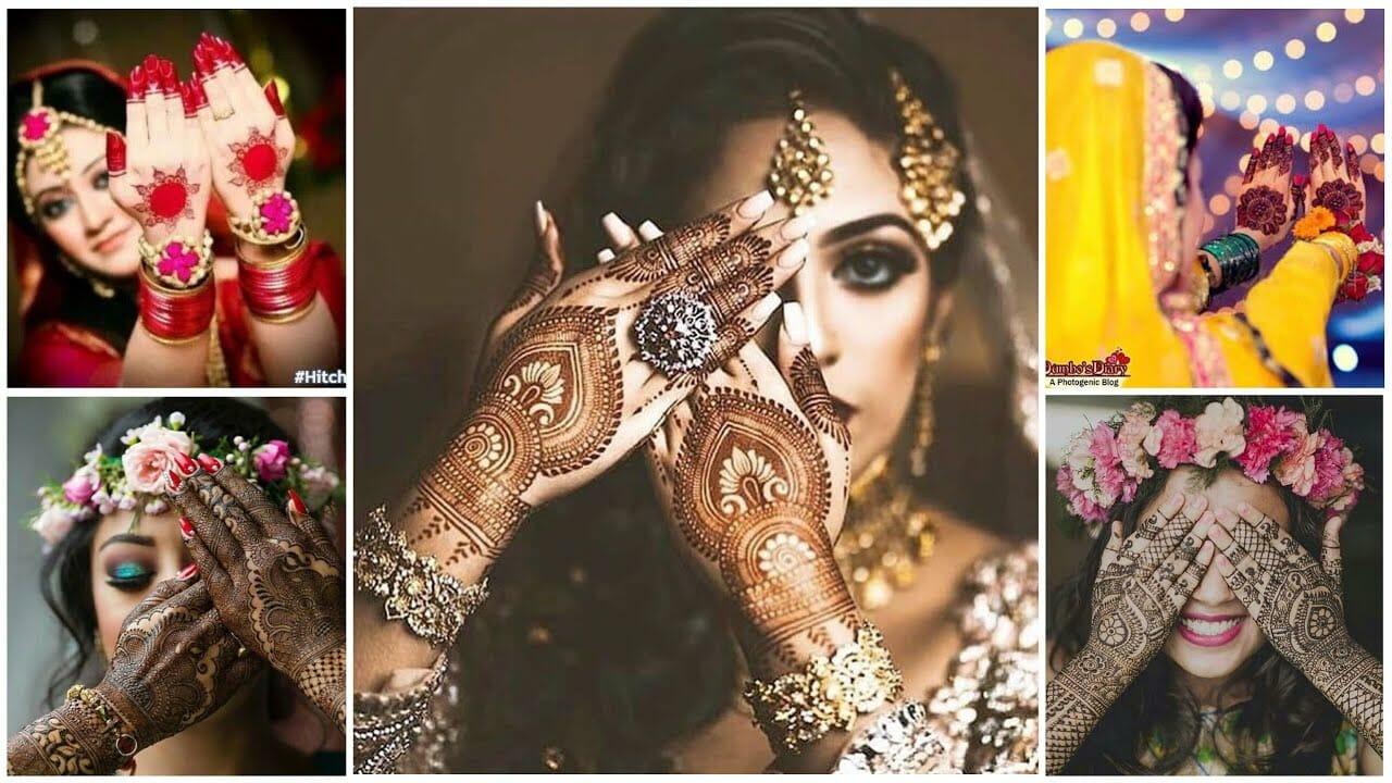 beautiful mehndi designs for bride