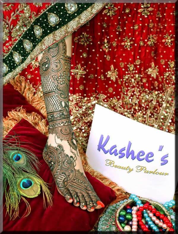 stunning feet and leg kashee's mehndi designs