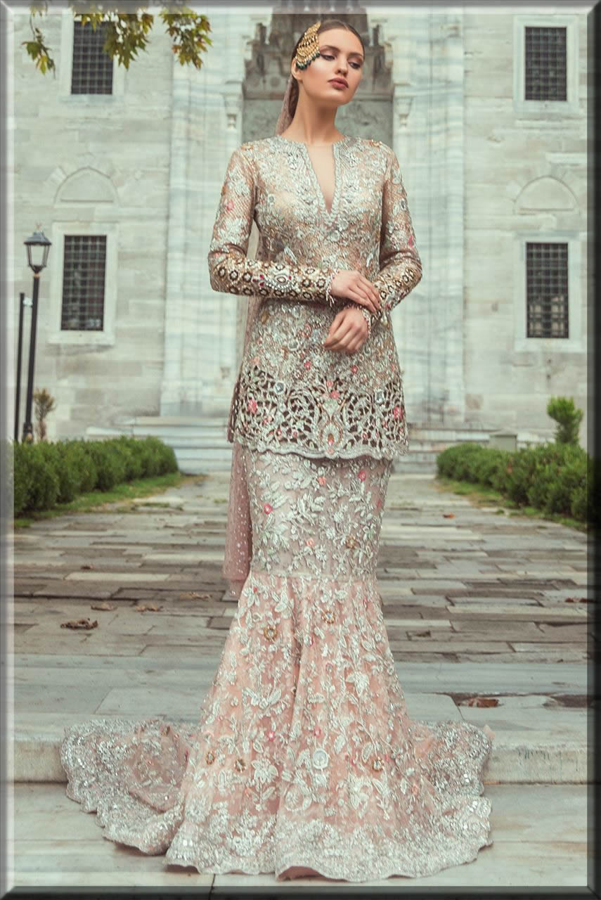 latest fish lehenga collection for a bride