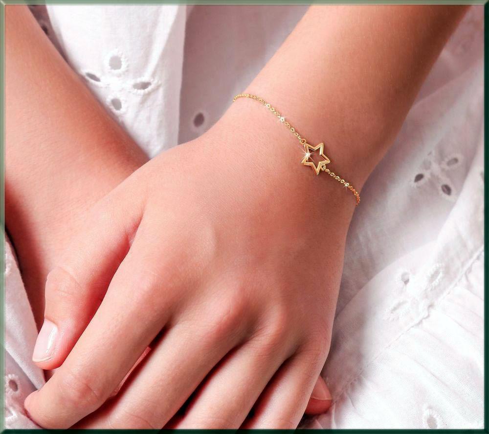 pretty star bracelet for girls