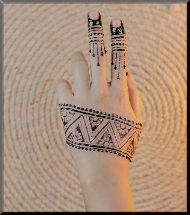 most charming mehndi designs