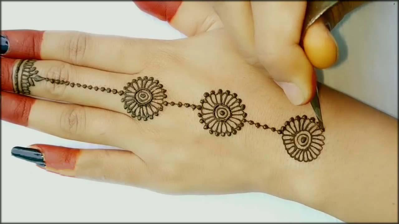 fabmehndi designs for beginners