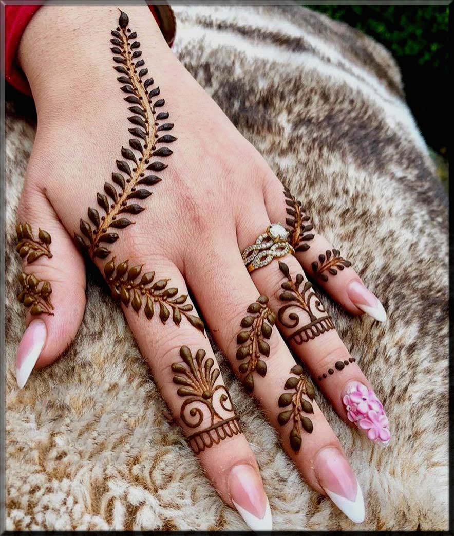 sly mehndi designs for beginners