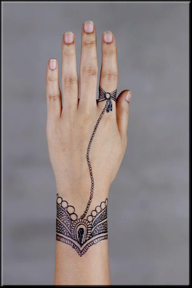 stunning easy mehndi designs for beginners