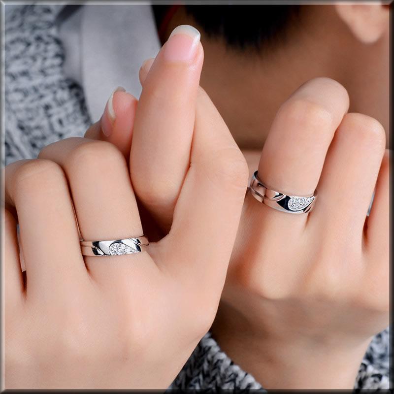 unique couples rings