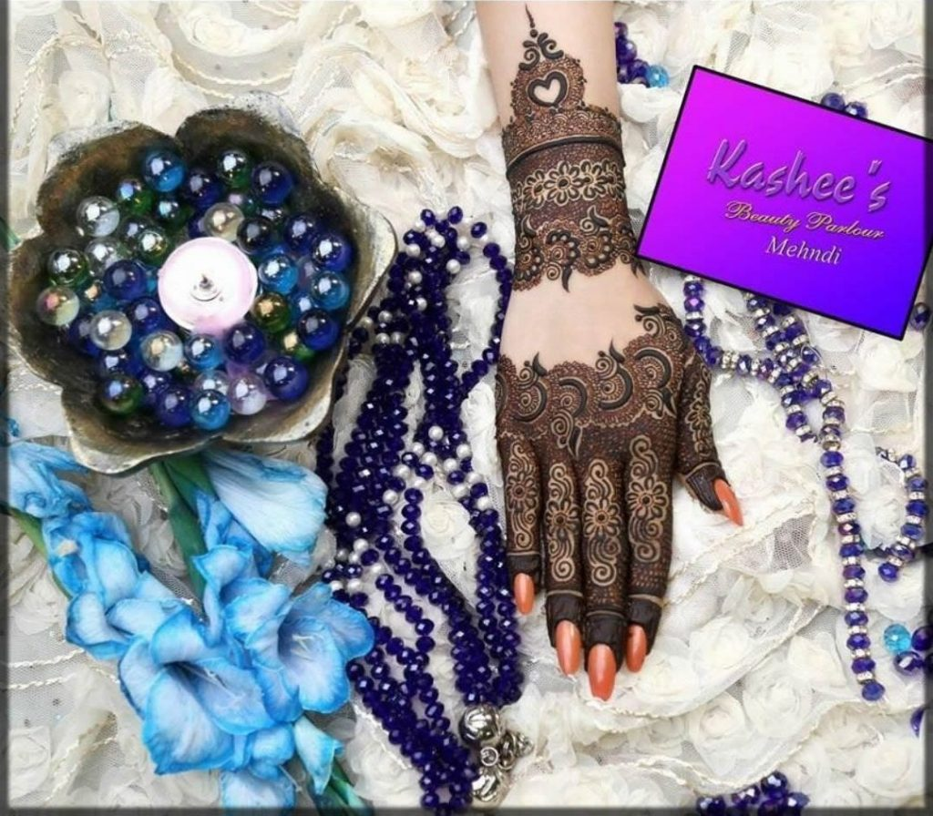 unique and best kashees mehndi designs