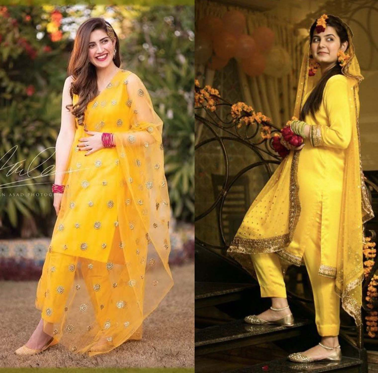 Bridal Mehndi Dresses 2020 Latest Trends In Pakistan