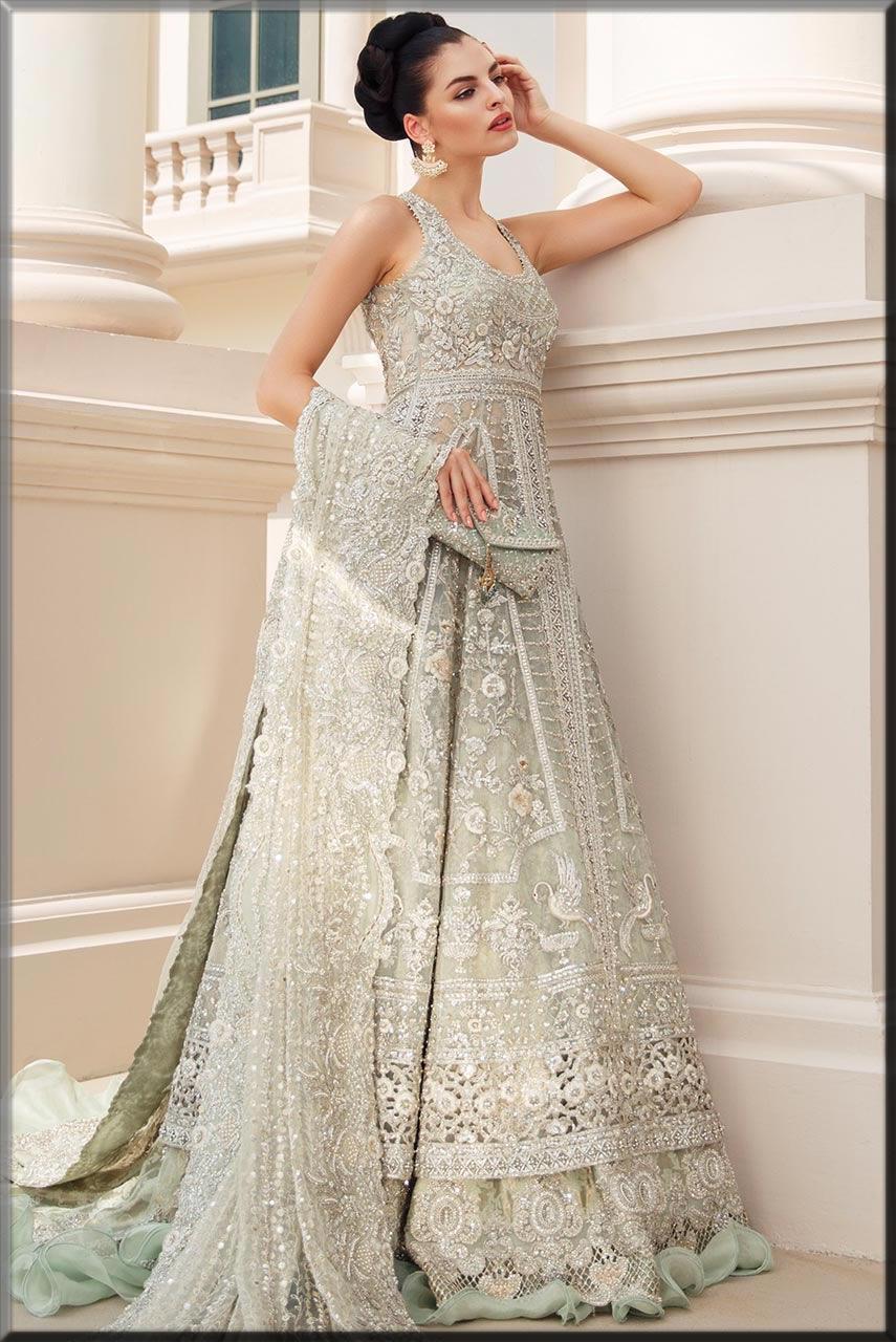 Bridal Walima dresses maxi lehenga