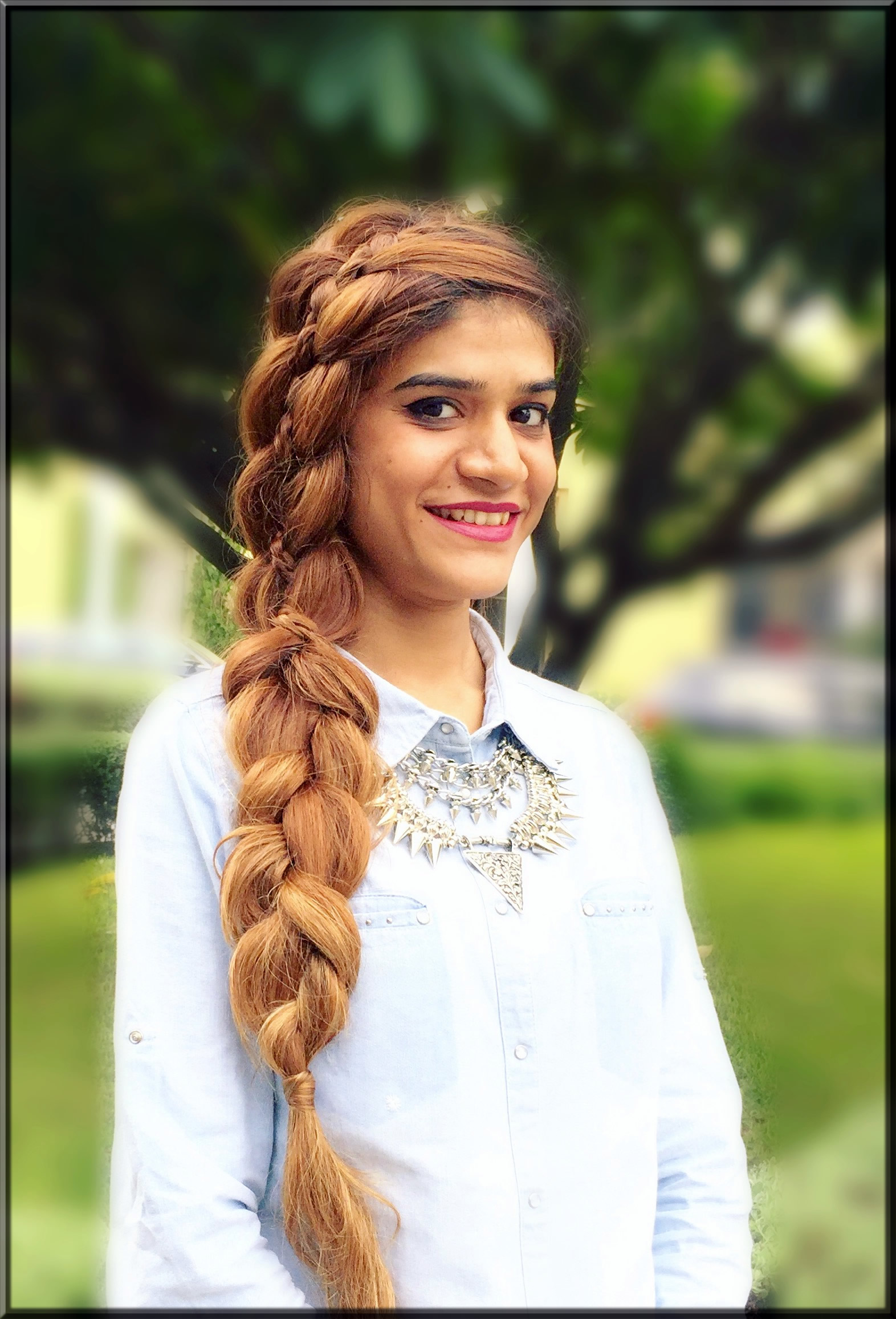 4 Strand Braid hairstyle for girls